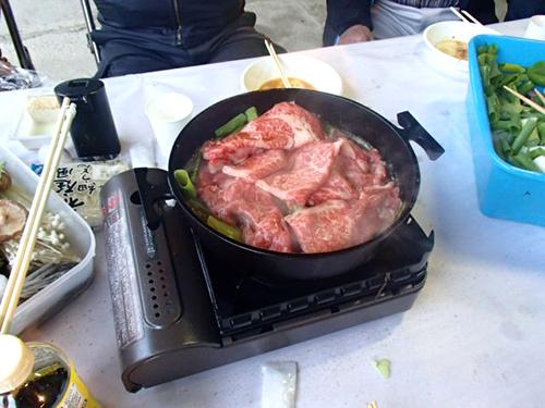 今年のお肉はとっても分厚くって美味しかったぁ❤